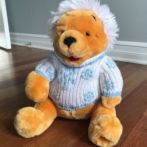 Disney Store Exclusive Winnie the Pooh plush rare